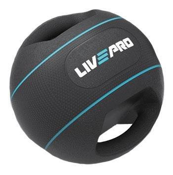 Medicinbal s úchopy DOUBLE GRIP, LivePro