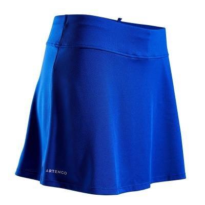 Modrá dámská tenisová sukně Artengo - velikost XXS