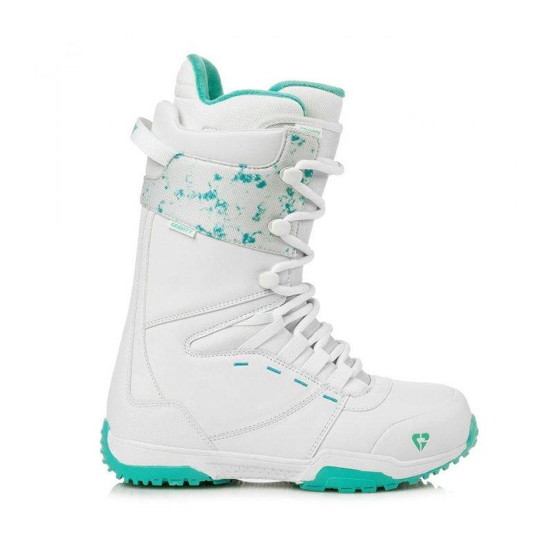 Bílé dámské boty na snowboard Gravity - velikost 41 EU