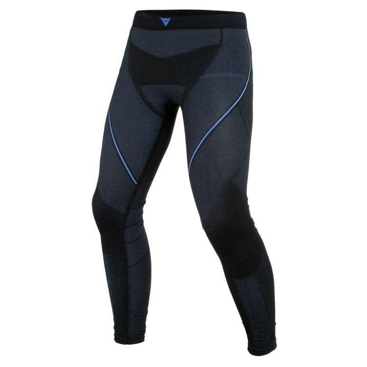Černo-modré pánské motorkářské kalhoty Dainese