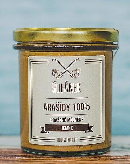 Máslo - Šufánek Arašídové máslo jemné 1000 g