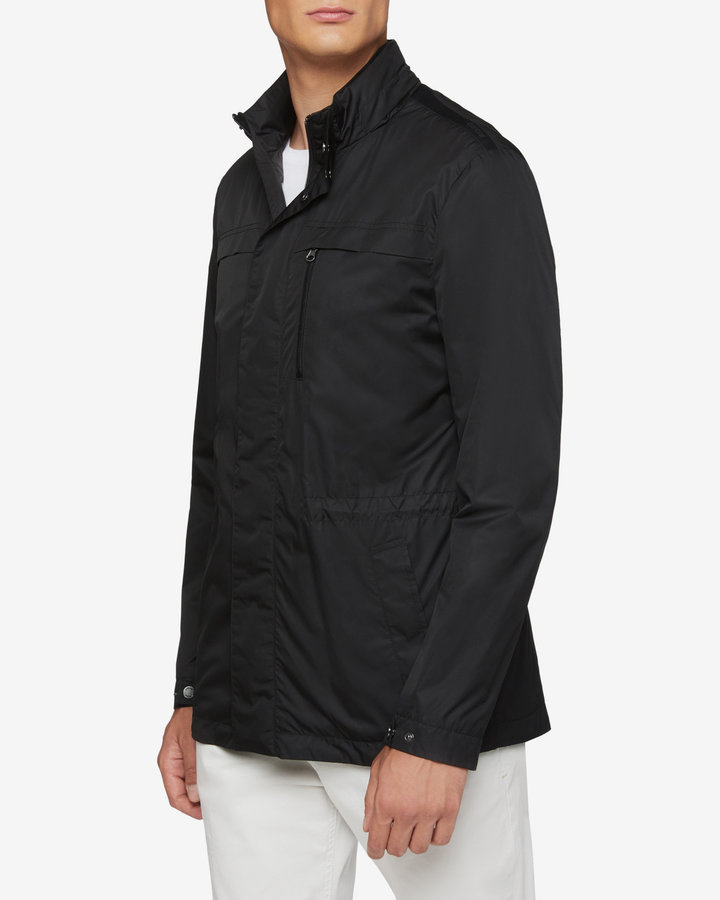 Černá pánská bunda - větrovka Geox - velikost M