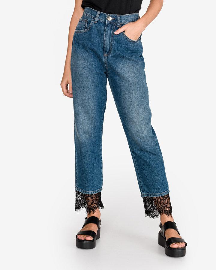 Modré dámské džíny Twinset - velikost 25