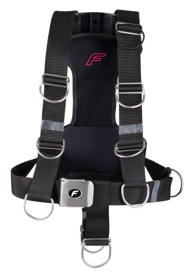 Křídlo - Popruhy ke křídlu Fly Ultralite Růžové