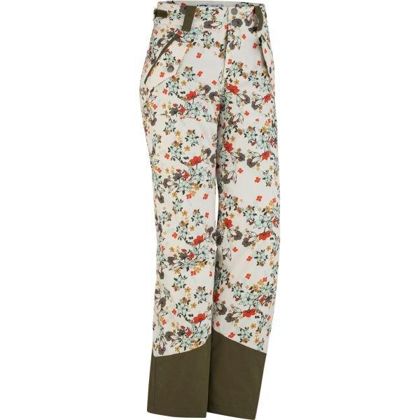 Béžové dámské lyžařské kalhoty Kari Traa