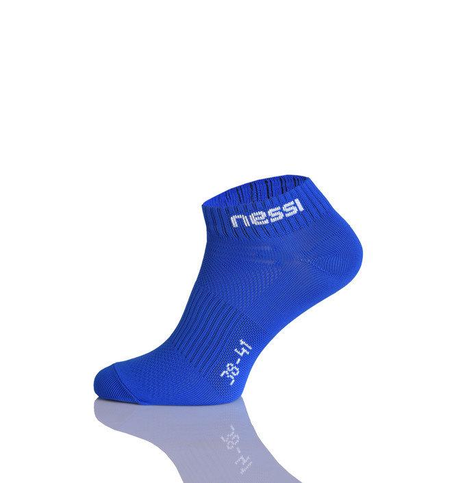 Modré dámské nebo pánské běžecké ponožky Nessi - velikost 35-37 EU