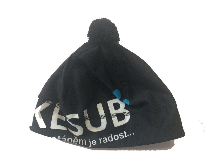Modrá zimní čepice ... 038515365b