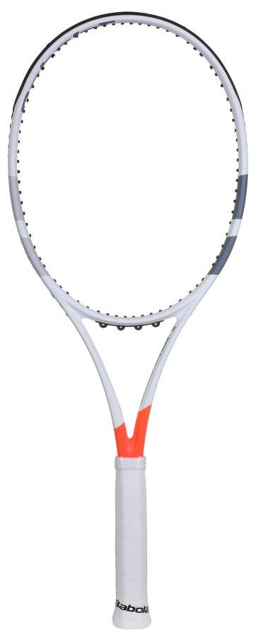 Bílá tenisová raketa Babolat