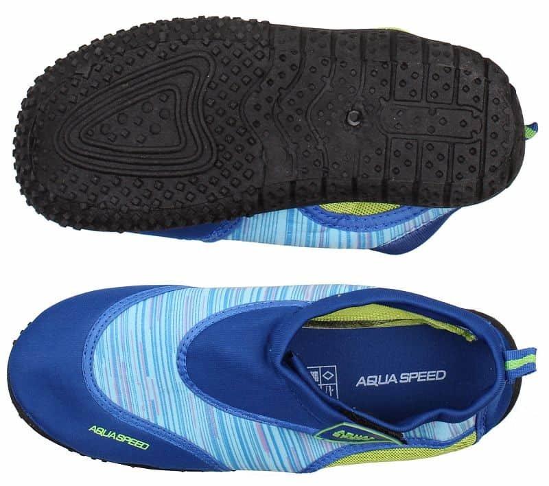 Černo-zelené boty do vody Jadran 2, Aqua-Speed - velikost 25 EU