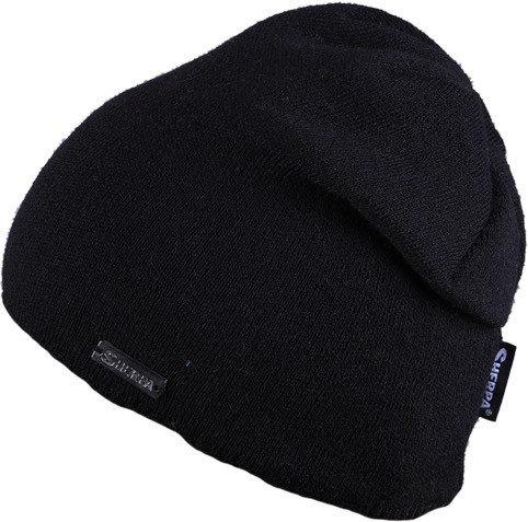 Černá dámská zimní čepice Sherpa
