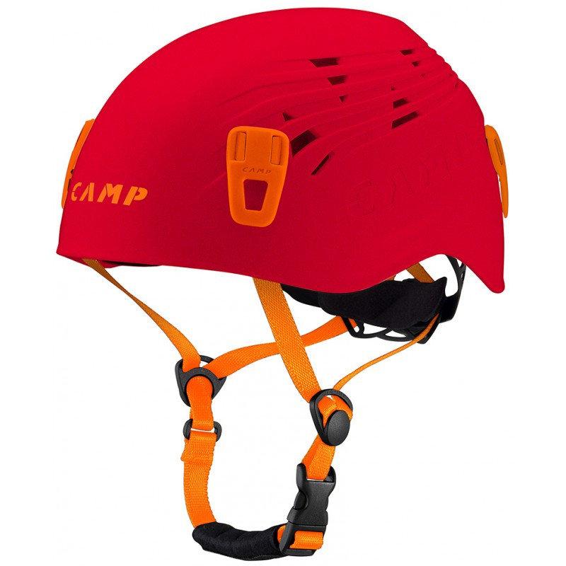 Horolezecká helma - Lezecká přilba Camp Titan Velikost helmy: 48-56 / Barva: červená/oranžová