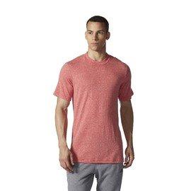 Červené pánské tričko s krátkým rukávem Adidas
