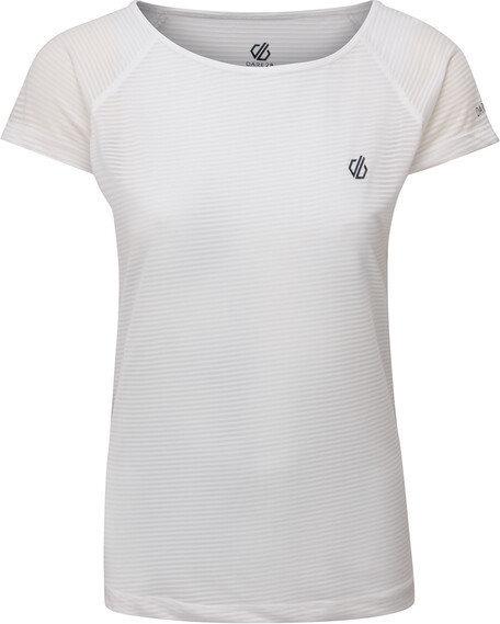 Bílé dámské funkční tričko s krátkým rukávem Dare 2b