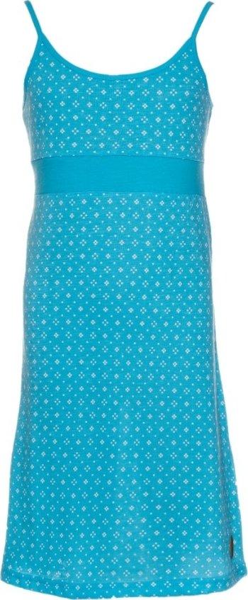Modré dívčí šaty Sam 73 - velikost 140-146