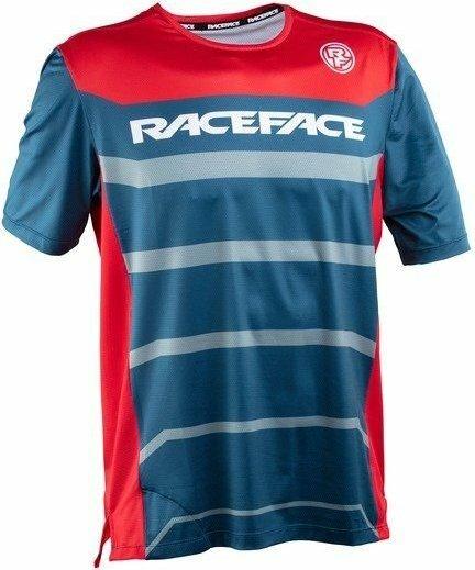 Modrý pánský cyklistický dres Race Face