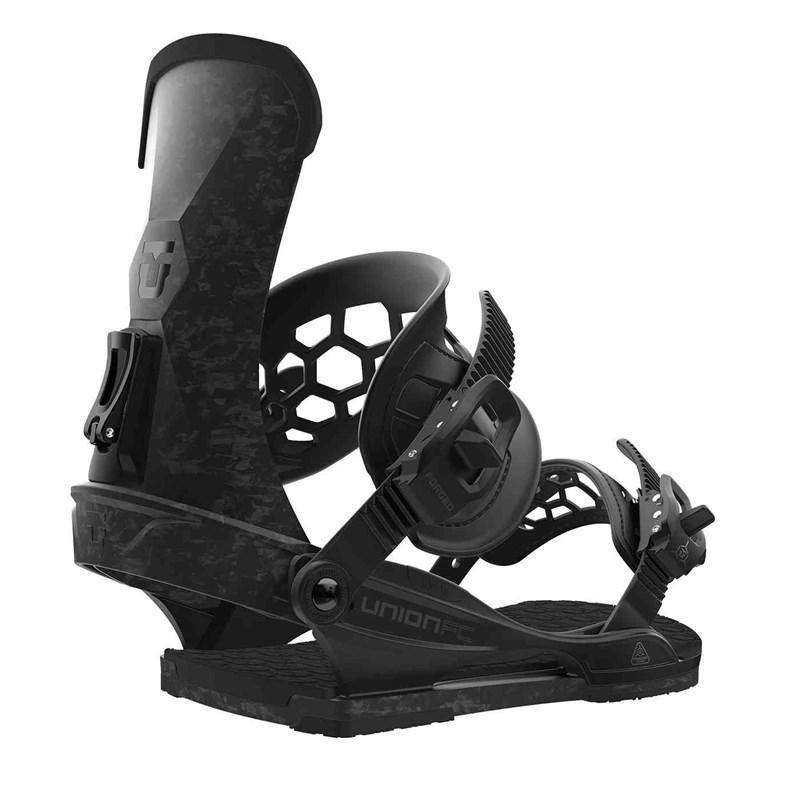 Černé vázání na snowboard Union - velikost L