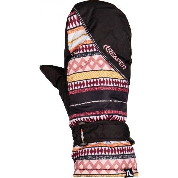 Černé dámské snowboardové rukavice Reaper