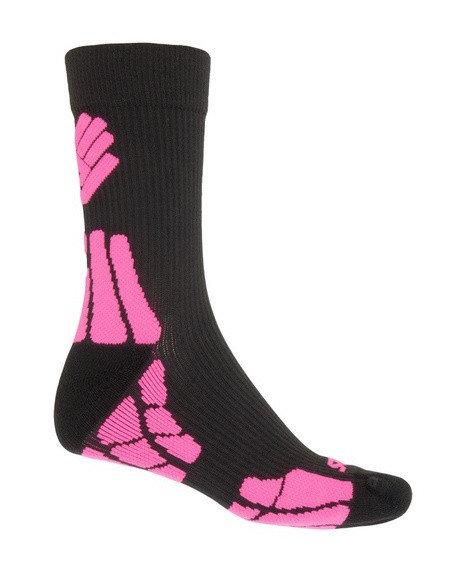 Růžové pánské ponožky Hiking, Sensor - velikost 43-46 EU