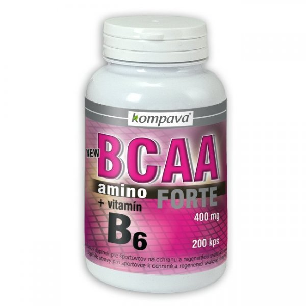 BCAA - Amino BCAA Forte - Kompava 200 tbl
