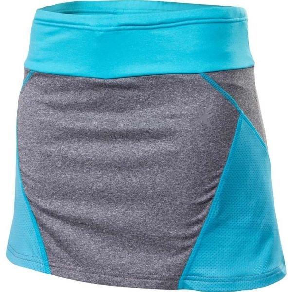 Modro-šedá dámská běžecká sukně Klimatex - velikost XS