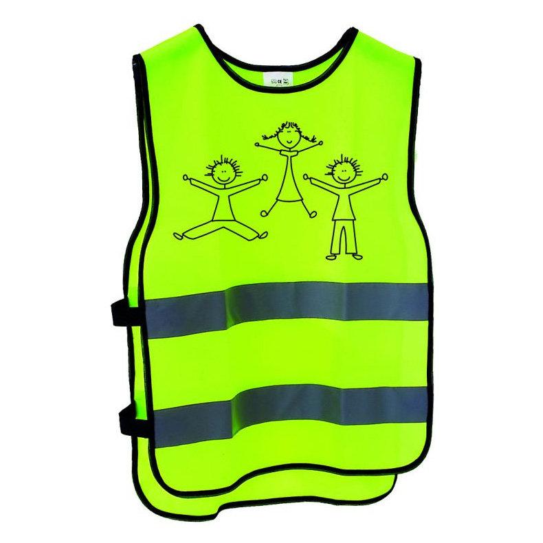 Dětská reflexní vesta Cyklošvec - univerzální velikost