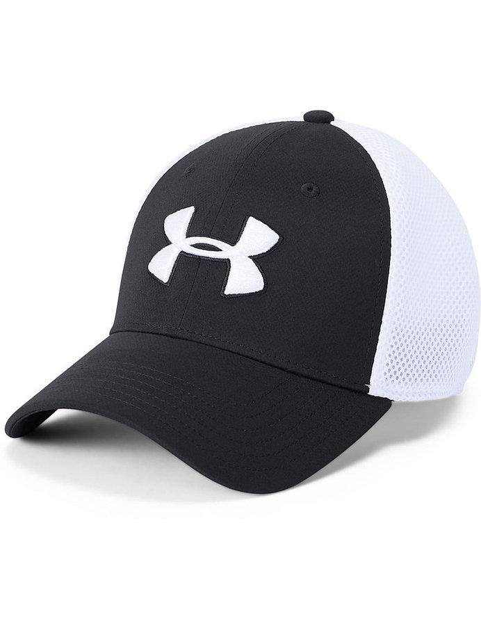 Bílo-černá pánská golfová kšiltovka Under Armour