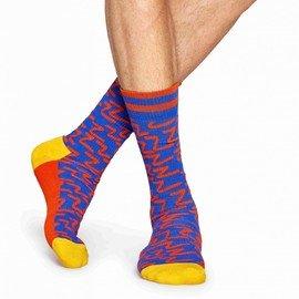 Modré pánské ponožky Happy Socks - velikost 41-46 EU
