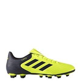 Černo-žluté kopačky lisovky Copa 17.4 FxG, Adidas