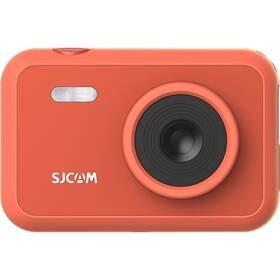 Červená outdoorová kamera F1 Fun Cam, SJCAM