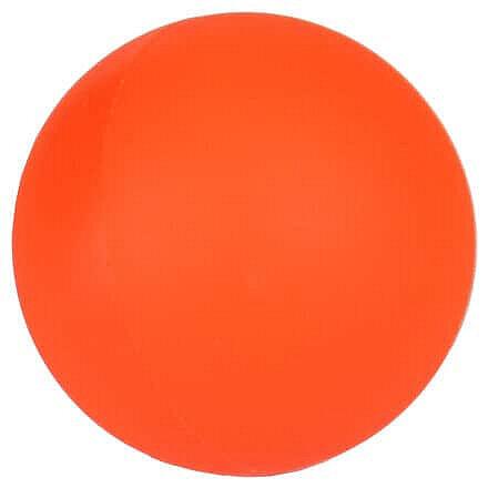 Oranžový střední hokejbalový míček Merco