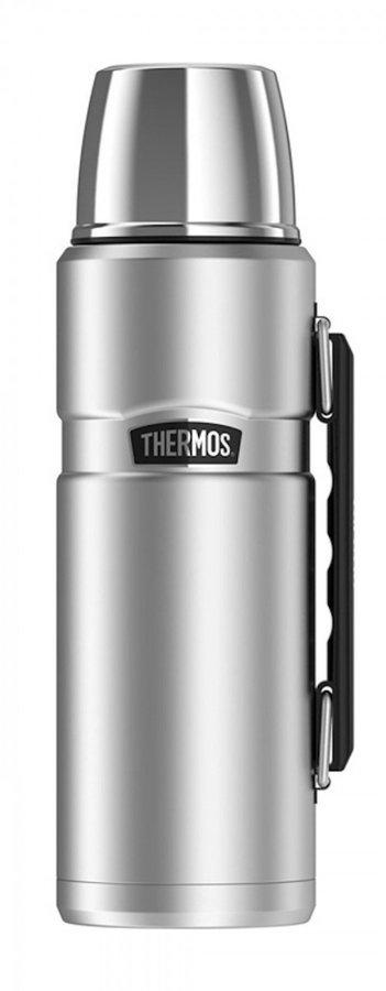 Stříbrná termoska Style, Thermos - objem 1,2 l