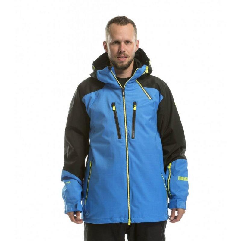 Modrá pánská snowboardová bunda Nugget - velikost L