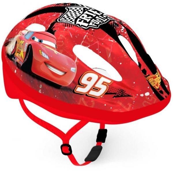 Červená dětská cyklistická helma Disney Brand