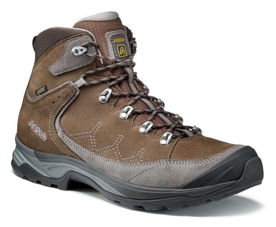 Hnědé pánské trekové boty Asolo
