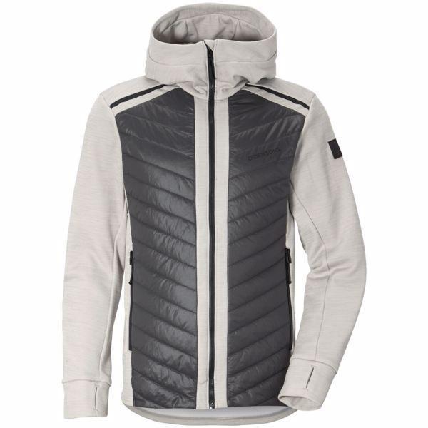 Šedá zimní pánská bunda s kapucí Didriksons1913 - velikost S
