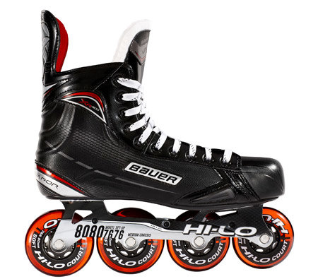 Brusle na in-line hokej - Inline brusle Bauer Vapor XR400 S17 Junior Bauer 4 / EUR 37,5 / UK 4,5
