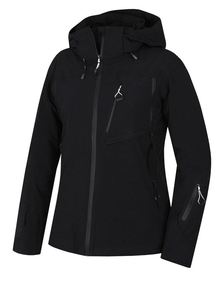 Černá dámská lyžařská bunda Husky - velikost XL