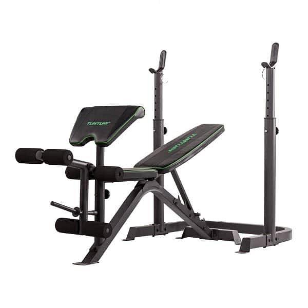 Multifunkční posilovací lavice WB50 Mid Width Weight Bench, Tunturi