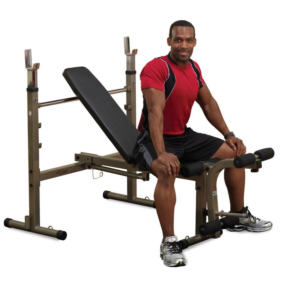 Bench posilovací lavice OB10, Best Fitness