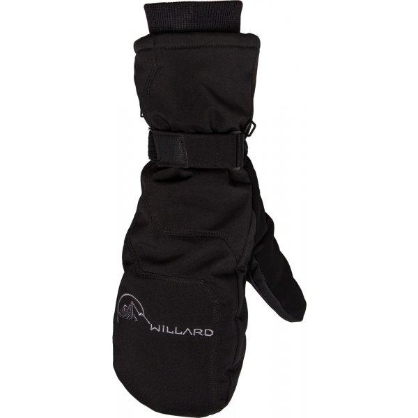Černé pánské lyžařské rukavice Willard