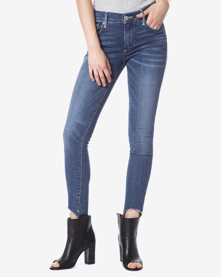Modré dámské džíny True Religion - velikost 31