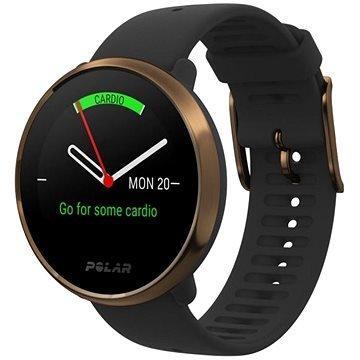 Černé chytré pánské hodinky Ignite, Polar