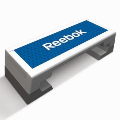 Bílo-modrý aerobic step Reebok