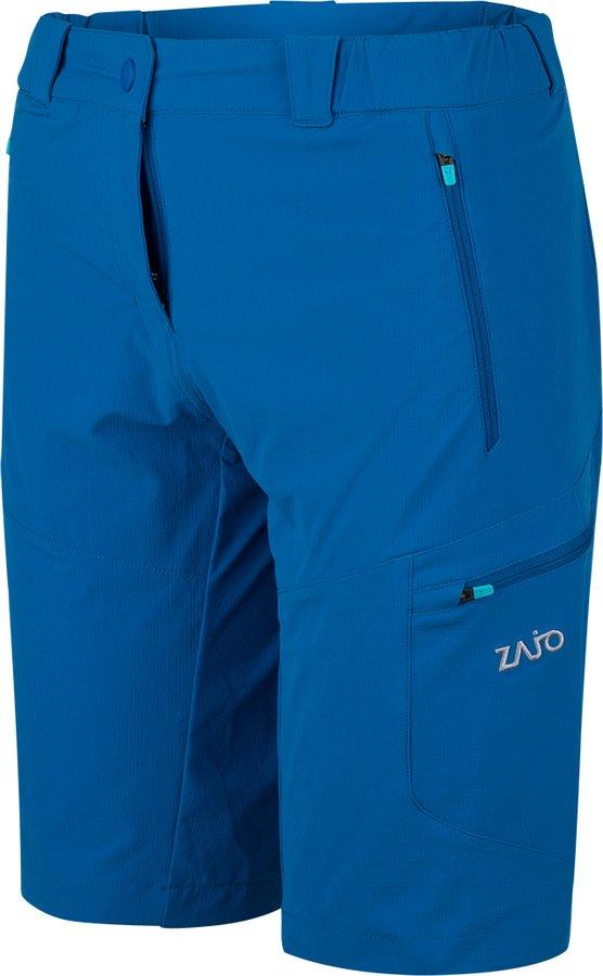 Modré sportovní dámské kraťasy Zajo - velikost XL