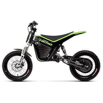 Černá dětská elektrická motorka Cross Hero, Kuberg