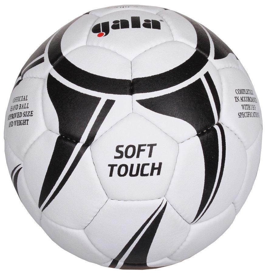 Bílo-černý míč na házenou Soft Touch BH3043S, Gala - velikost 3