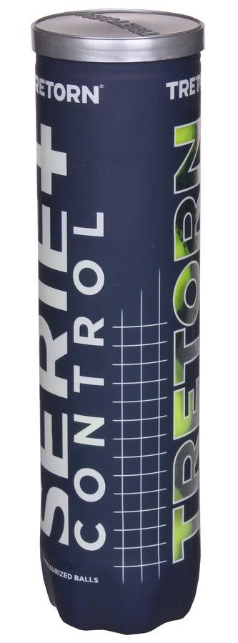 Tenisový míček Serie+ Control, Tretorn - 4 ks