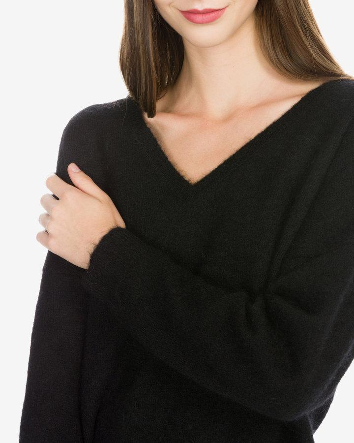 Černý dámský svetr Selected - velikost XS