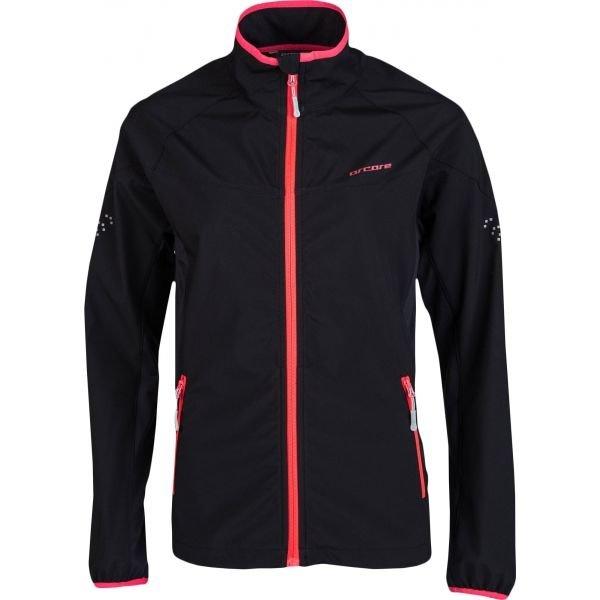 Černá dámská běžecká bunda Arcore
