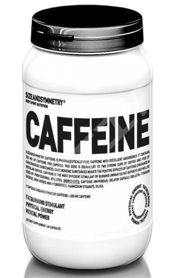 Kofein - SizeAndSymmetry Caffeine 60 tablet